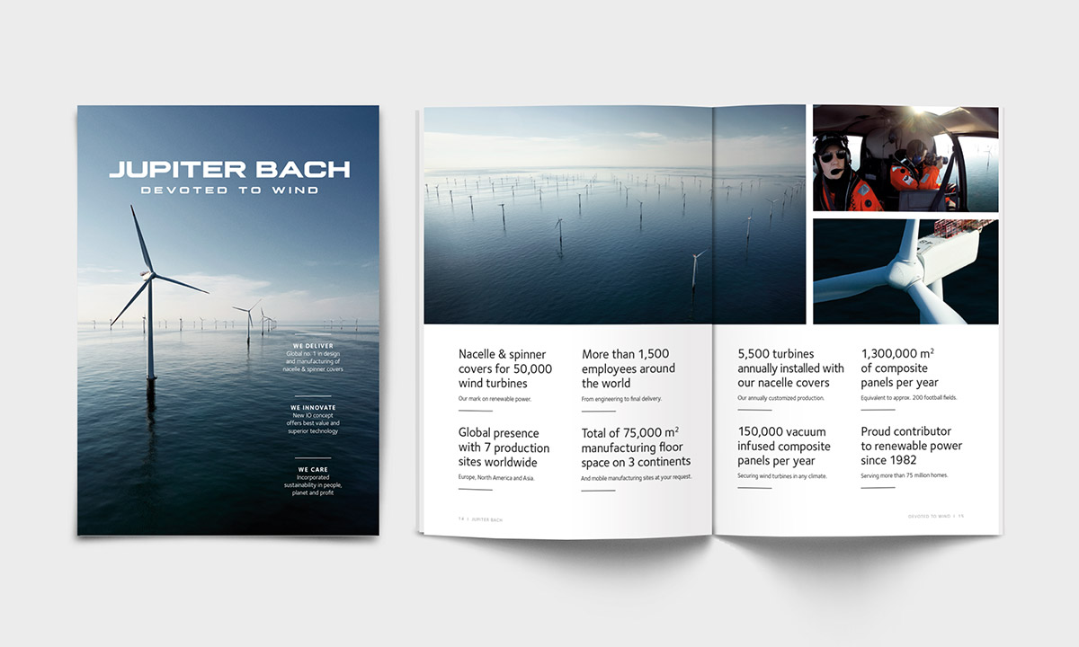 Our company profile brochure - Jupiter Bach